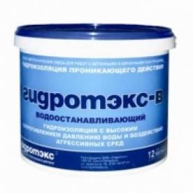 «Гидротэкс - В» Водоостанавливающий- (8 кг) Image